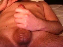 Masturbation and huge cumshot after one week of chastity