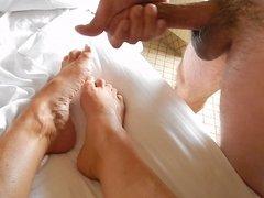 cum on sexy feet