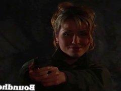 Lesbain Slave Huntress part 2 from boundheat.com