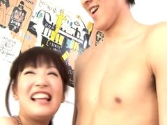 Japanese Pornstar Akane Ozora her devoted foreplay
