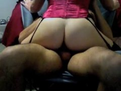 Young Slut In Minsk-she has to learn a lot to ride well.