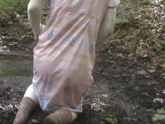 mud clothed dress