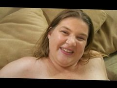 Delighted Hairy Fatty Gets BBC Up Ass