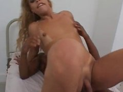 tranny opens her throat and ass