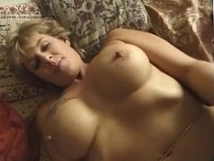 FRENCH MATURE n56 blonde anal mom  with nice tits