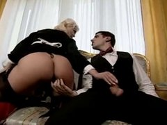 Italian Maid Takes Two Cocks With Her Holes (Camaster)