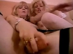 FRENCH MATURE n56 two blonde lesbian moms