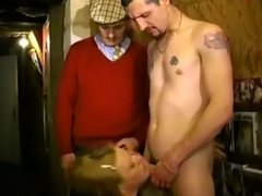 French Prosti 2 facials by father and not his son
