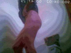 MILF toilet hidden cam