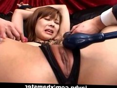 Japanese teen tied up and gets hot orgasm Uncensored