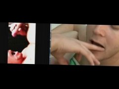 cum compilation with split screen