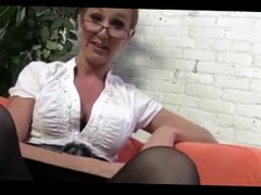 Hot MILF Fucked By Two Studs BTS