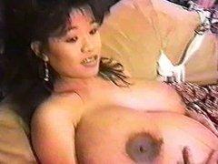 Pregnant girl wiht MONSTER's boobs