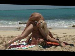 lesbian fist beach part 2