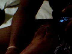 Ebony Toe Wiggling