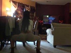 FREAKY DOMINICAN DANCING NAKED