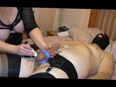 Tie, tease and torture of sissy boy james