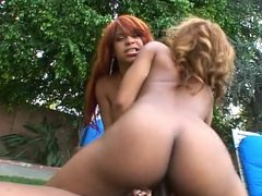 Chyanne Jacobs & Diamond Starr Threesome