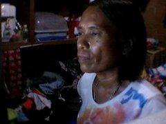51 YEAR OLD FILIPINA MOM RHODORA LEPITEN SHOWS HER TITS