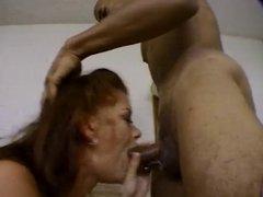 Hooker sucks 2 huge black cocks