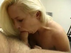 Huge Boobed Tiny Nicky Tease Blowjob and Facial