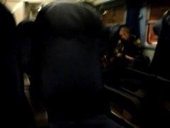 masturbate in train