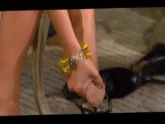 Julie Chen Shows Offs Her Milf Feet And Legs
