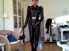 Sissy sexy leather spice girls 1