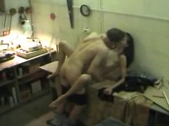 Hot Young Student Couple Sex Recorded on Security Camera