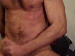 horny at home, i shoot hot cum after gym