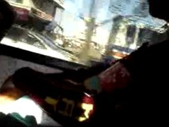JERKING FLASHING IN THE BUS