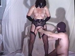 I,M HANDCUFFED FOR HUBBY,S FRIEND TO HAVE FUN