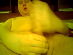 Showing Face And Jacking Off With A Cumshot
