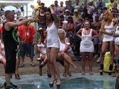 Amateur Wet T-Shirt Contest - Ponderosa 2013