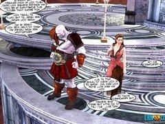3D Comic: WON Chronicles. Episodes 19-21