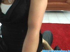 Amazing lapdance by czech hottie
