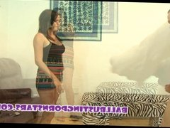 Ballbusting Babysitter CFNM Humiliation and Femdom CBT