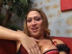 mutual fucking between tranny and her fella