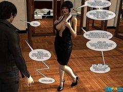 3D Comic: Vox Populi. Episode 4