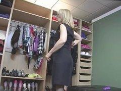 Nina Hartley Loves Black Stockings