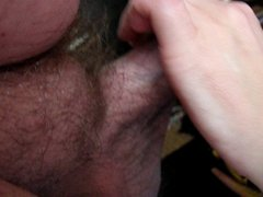 Sucking dick and touching tits