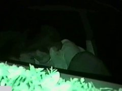 Infrared Camera Filmed Car Seat Fucking