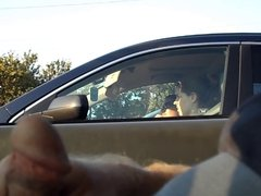 Car flash in traffic 2