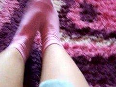 Cum on Kasia sexy and stinky feet