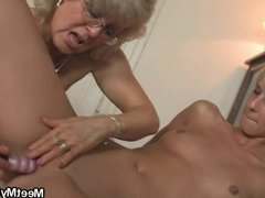 Perverted parents fuck their son's girl