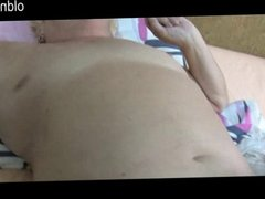 Old Nanny: Young skinny girl fucking with guy