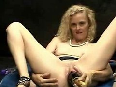 Carrie Canyon Stuffing her box