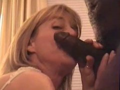 Husband Films Gorgeous White Wife Sucking a Younger BBC