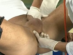 Doctor Gives His Ass An Inspection