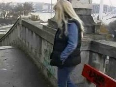 Compilation of women who's masturbes men in public !
